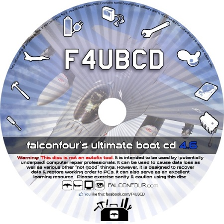 FalconFour's Ultimate Boot CD v4.6